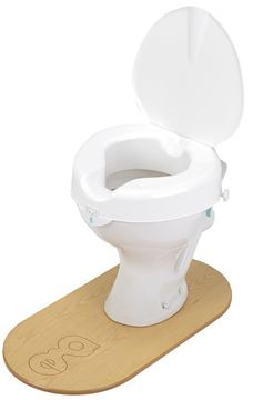 Cosby Raised Toilet Seat
